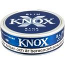 Knox Slim Blue White