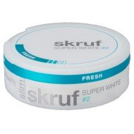 Skruf Super White Slim Fresh No.2 (Original)