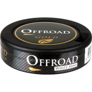 Offroad Gold White Mini Portion Snus
