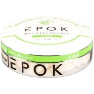 Epok Lime White Slim Portion Snus