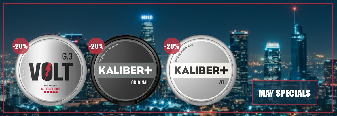 Save 20% on rolls of G.3 Volt and Kaliber+