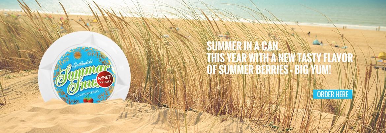 Summer Snus - Shop here!