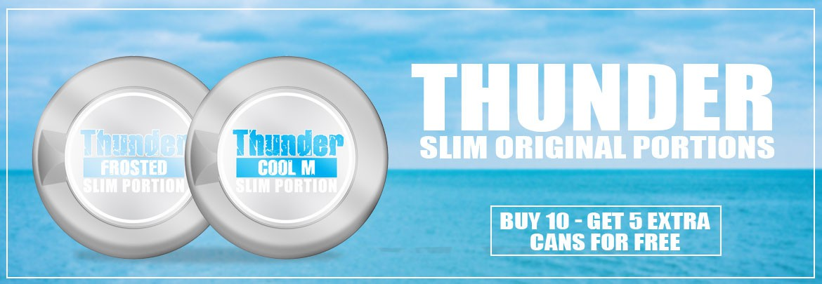 Thunder Slim Original Portion - buy 10 get 5 extra cans for free!