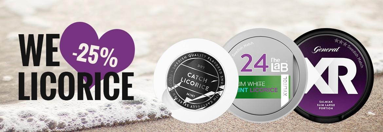 Licorice Week - 25% off this week!