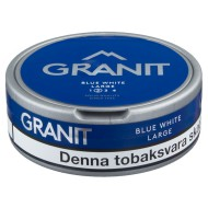 Granit Blue White Portion Snus