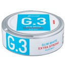 G.3 Slim White Mint Extra Strong