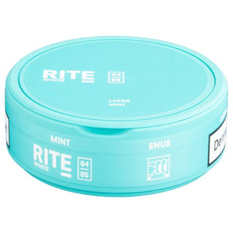 RITE Mint White Large Portion