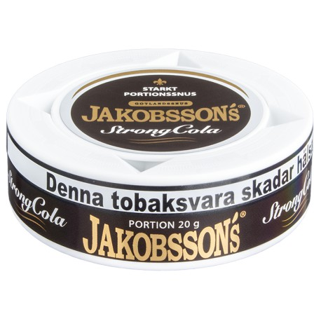 Jakobssons Strong Cola Snus