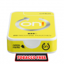 on! Citrus 6 Nicotine Pouches