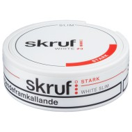 Skruf Slim Strong White