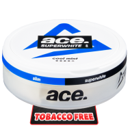 ACE Superwhite Cool Mint Slim All White