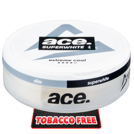 ACE Superwhite Extreme Cool Slim All White
