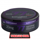 77 Black Currant Extra Strong Slim