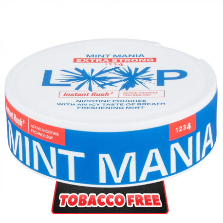 LOOP Mint Mania Extra Strong All White