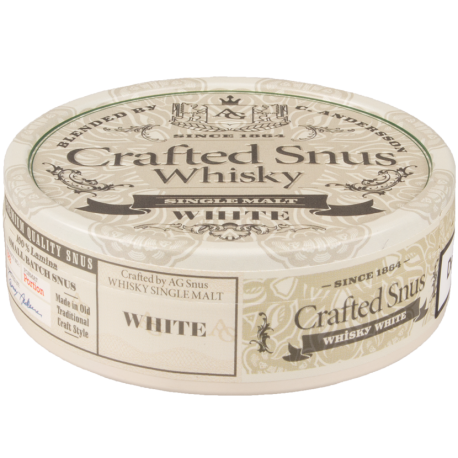 Crafted Snus Whisky White by Conny Andersson
