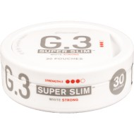 General G.3 - Super Slim White Strong Portion Snus