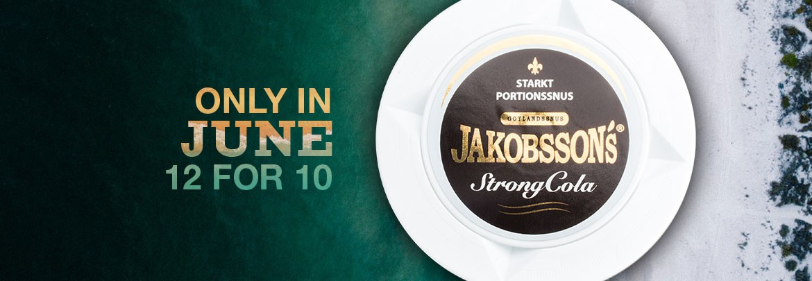 Jakobsson's Strong Cola Portion - 12 for 10